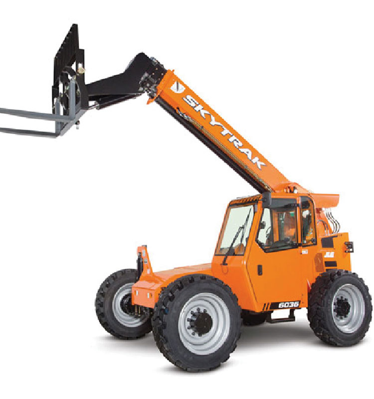 Heavy Machinery: Cranes, forklifts, bulldozers, etc.